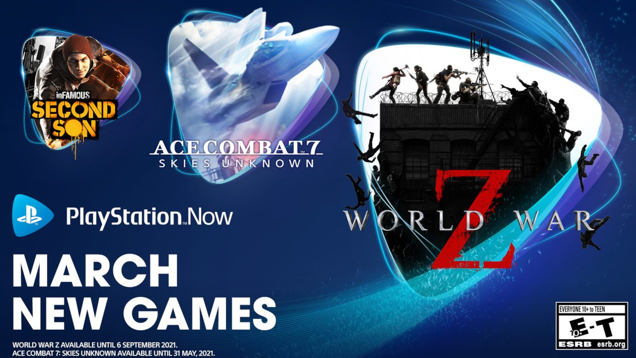 playstation-now-game-titles-for-march:-planet-war-z,-ace-overcome-7:-skies-mysterious,-infamous:-2nd-son-and-superhot