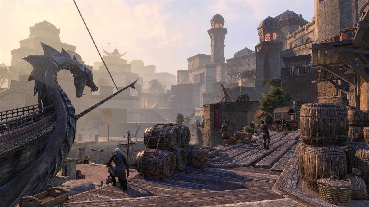 the-elder-scrolls-online:-console-improved-will-come-to-ps5-on-june-eight