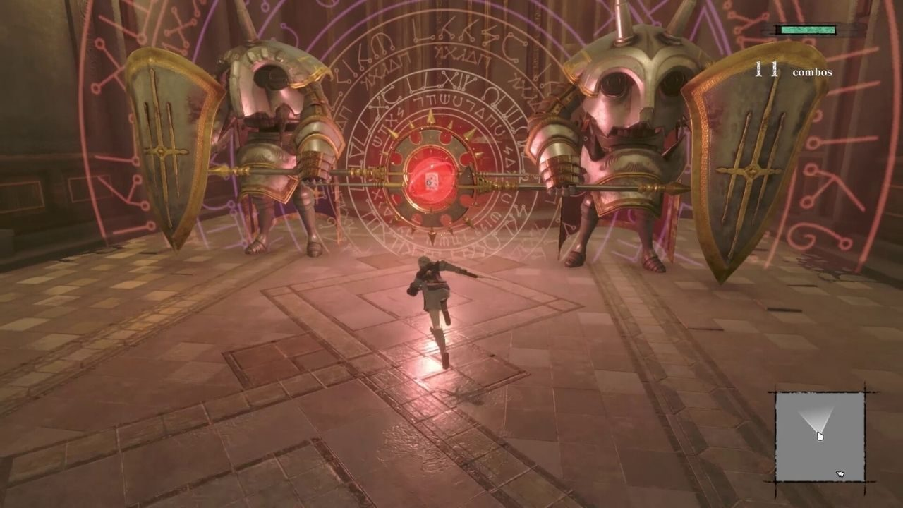 new-nier-replicant-gameplay-showcases-rigorous-two-on-one-boss-struggle