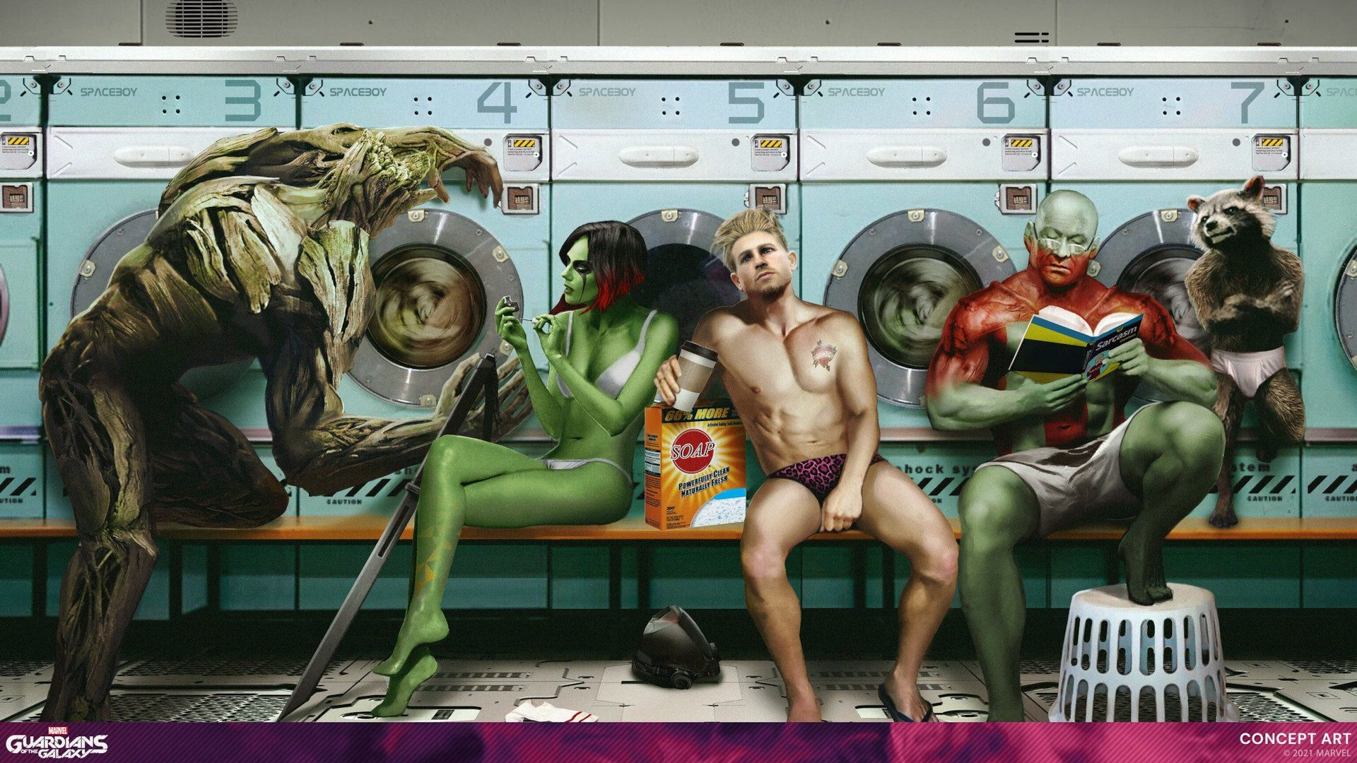 marvel's-guardians-of-the-galaxy:-reimagining-the-origins-and-models-of-the-guardians