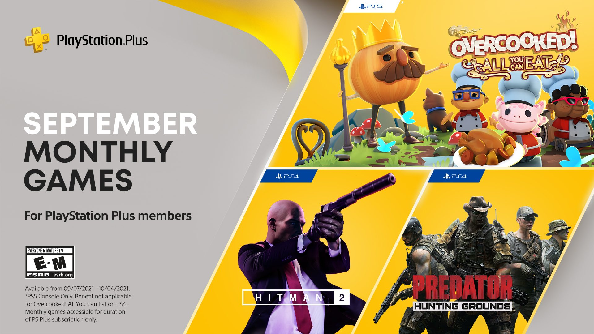 playstation-furthermore-games-for-september:-overcooked:-all-you-can-consume!,-hitman-2,-predator:-searching-grounds