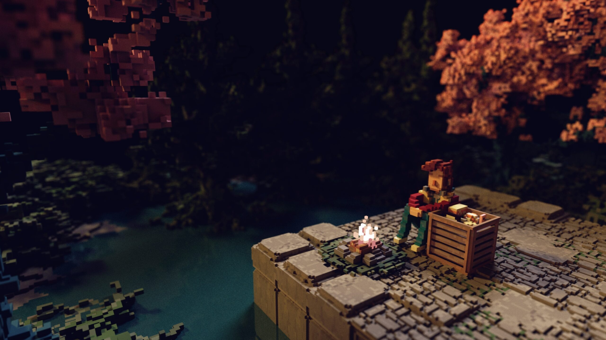 inside-of-bonfire-peaks-–-the-atmospheric-puzzle-match-about-burning-your-belongings